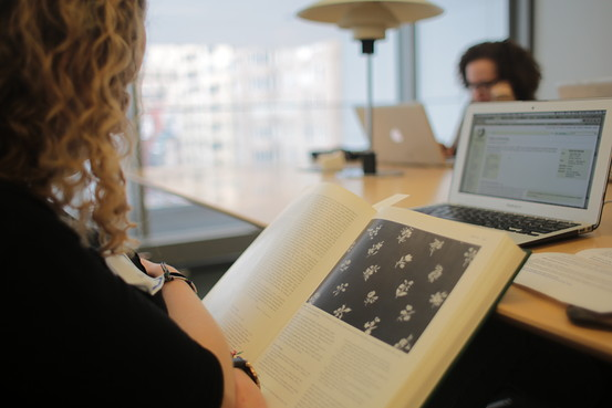 Art+Feminism Wikipedia Edit-a-thon at the Museum of Modern Art, 2015