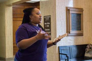 Librarian Bekezela Mguni discusses the Black Unicorn Project